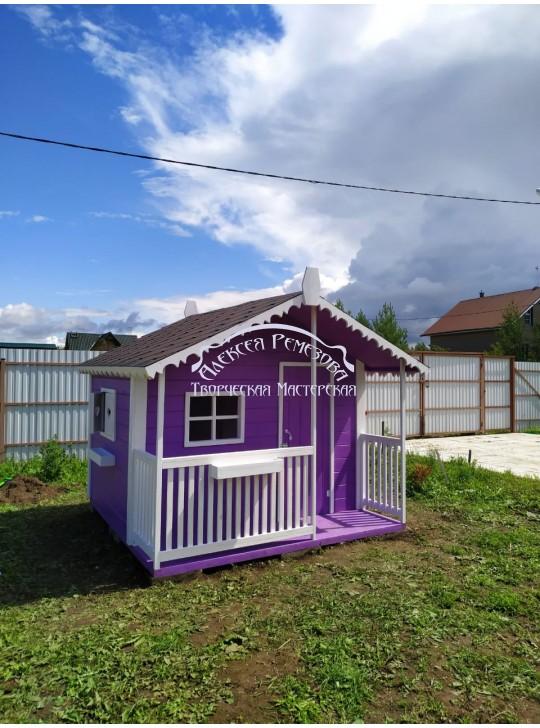 Детский игровой домик модель 021