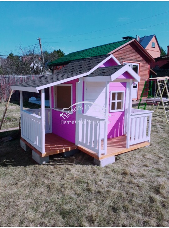 Детский игровой домик модель 030