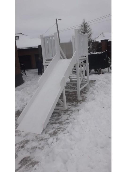 Горка игровая зимняя модель 003