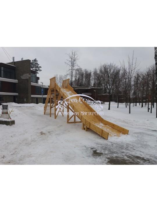 Горка игровая зимняя модель ГИ-0013