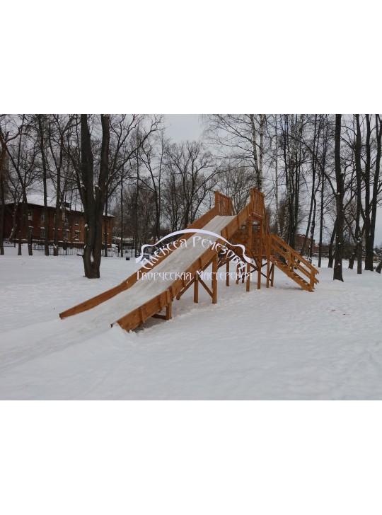 Горка игровая зимняя модель ГИ-0015