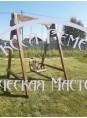 Качели-садовые с подвесным диваном