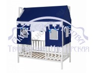 Деревянные кроватки домики