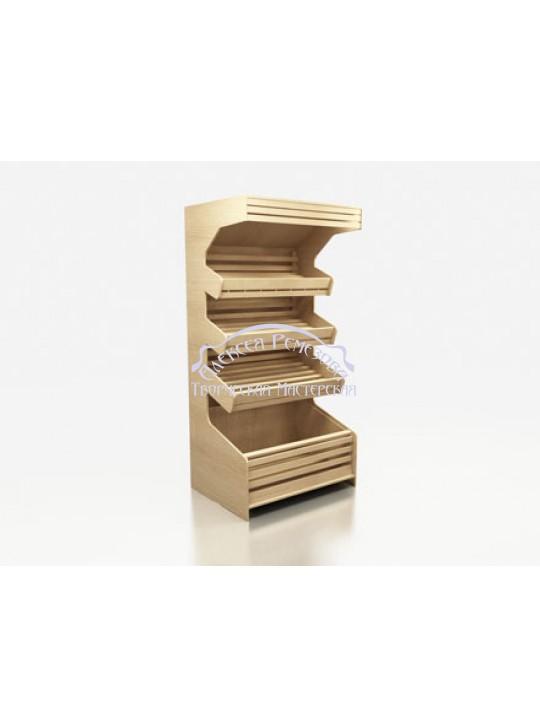 Хлебный стеллаж модель 010