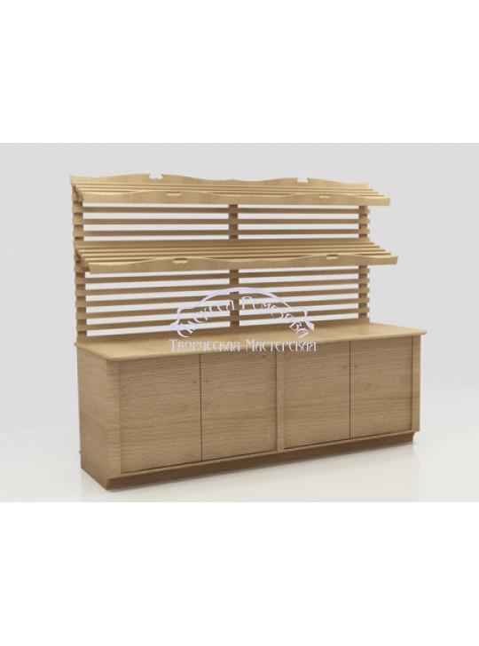 Хлебный стеллаж модель 012