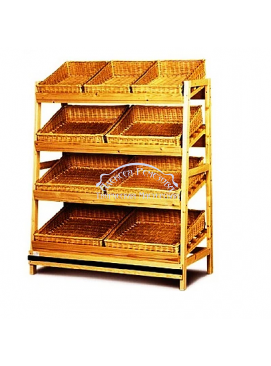 Хлебный стеллаж модель 002