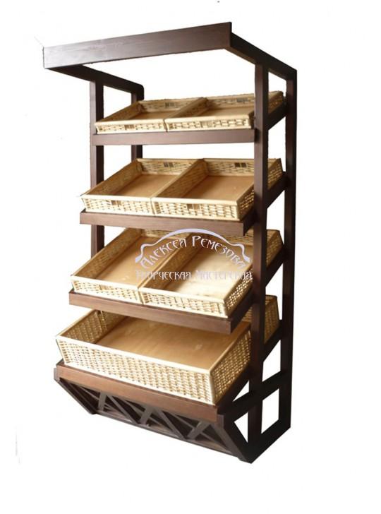 Хлебный стеллаж модель 004