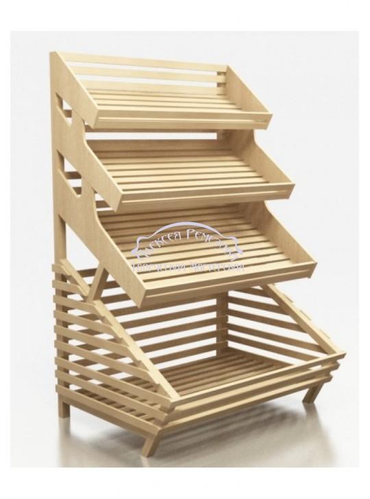Хлебный стеллаж модель 006