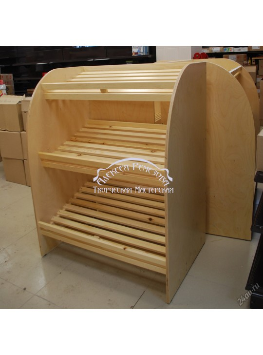 Хлебный стеллаж модель 008