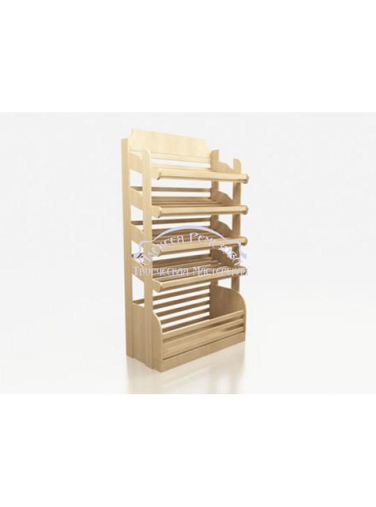 Хлебный стеллаж модель 009