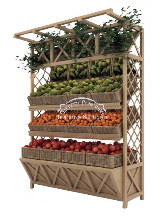 Овощной прилавок модель 002
